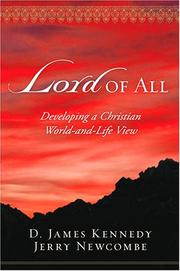 Cover of: Lord of All