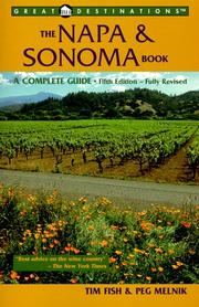 Cover of: Great Destinations The Napa & Sonoma Book, Fifth Edition