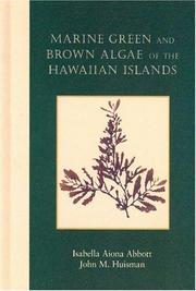 Cover of: Marine Green and Brown Algae of the Hawaiian Islands (Bishop Museum Bulletins in Botany)