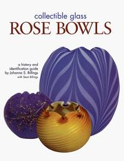 Cover of: Collectible Glass Rose Bowls
