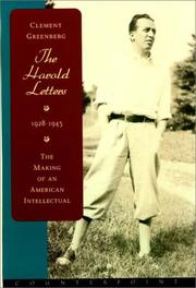 Cover of: The Harold Letters 1928-1943