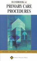 Cover of: Handbook of Primary Care Procedures