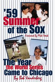 Cover of: '59 Summer of the Sox