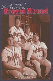 Cover of: Leo Mazzone's Tales from the Braves Mound