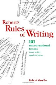 Cover of: Roberts Rules Of Writing