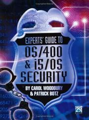 Cover of: Experts' Guide to OS/400 & i5/OS Security