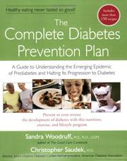 Cover of: The Complete Diabetes Prevention Plan
