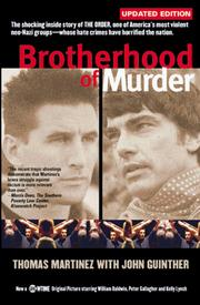 Cover of: Brotherhood of Murder