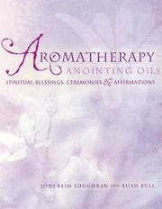 Cover of: Aromatherapy Anointing Oils