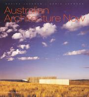 Cover of: Australian Architecture Now