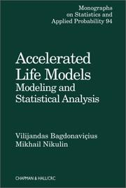 Cover of: Accelerated life models