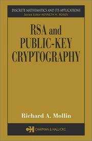 Cover of: RSA and Public-Key Cryptography