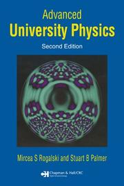 Cover of: Advanced University Physics, Second Edition
