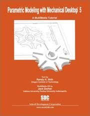 Cover of: Parametric Modeling With Mechanical Desktop 5