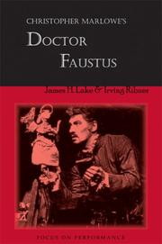 Cover of: Christopher Marlowe's Dr. Faustus (Focus on Performance)