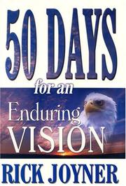 Cover of: 50 Days for an Enduring Vision (50 Day Devotional)