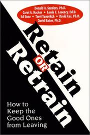 Cover of: Retain or Retrain