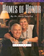 Cover of: Homes of Honor I Manual