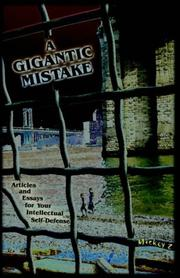 Cover of: A Gigantic Mistake