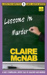 Cover of: Lessons in Murder (Detective Inspector Carol Ashton Mysteries)