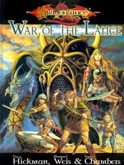 Cover of: Dragonlance War Of The Lance (Dragonlance)