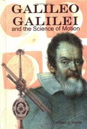 Cover of: Galileo Galilei and the Science of Motion (Great Scientists)