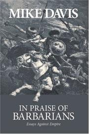 Cover of: In Praise of Barbarians
