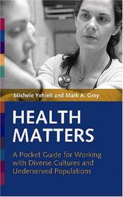 Cover of: Health Matters