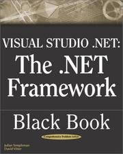 Cover of: VisualStudio.Net