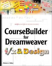 Cover of: Coursebuilder for Dreamweaver f/x and Design