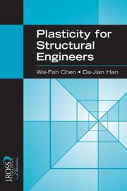 Cover of: Plasticity for Structural Engineers