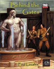 Cover of: Behind the Gates (Foul Locales)