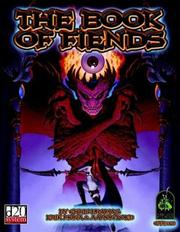 Cover of: The Book Of Fiends