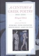 Cover of: A Century of Greek Poetry 1900-2000