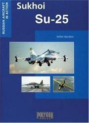 Cover of: Sukhoi SU-25 (Russian Aircraft in Action)