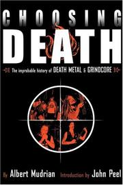 Cover of: Choosing Death