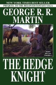 Cover of: The Hedge Knight