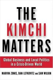 Cover of: The Kimchi Matters
