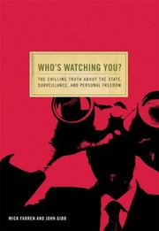 Cover of: Who's Watching You? (Conspiracy Books)