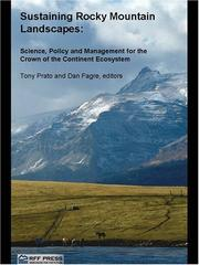 Cover of: Sustaining Rocky Mountain landscapes
