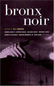 Cover of: Bronx Noir (Akashic Noir)