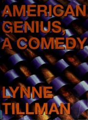 Cover of: American Genius, A Comedy