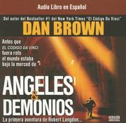 Cover of: Angeles y demonios