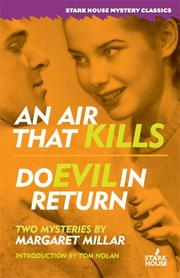 Cover of: An Air That Kills / Do Evil in Return
