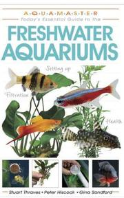 Cover of: Freshwater Aquariums