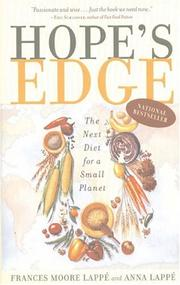 Cover of: Hope's edge
