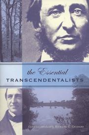 Cover of: The essential transcendentalists