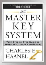 Cover of: The Master Key System