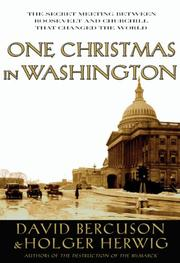 Cover of: One Christmas in Washington