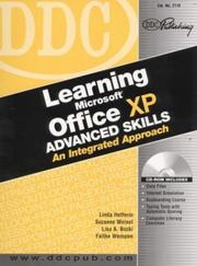 Cover of: DDC Learning Microsoft Office XP Advanced Skills